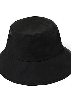 cheap Prom Dresses-Men's Bucket Hat Polyester Basic - Color Block Fall Black