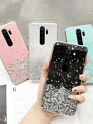 cheap Xiaomi Case-Glitter Bling Sequin Case For Xiaomi Redmi Note 9 / 9Pro / 9s / 9Pro Max /8 / 8 Pro / 8T / 7A / K30 /K30Pro /  K20 /K20Pro / Soft Case For Mi 10 /10Pro / CC9Pro / 9T / 8 Lite /6Pro Silicon Clear Cover