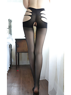 cheap Socks & Hosiery-Women's Thin Pantyhose - Sexy / Lace 30D Black One-Size