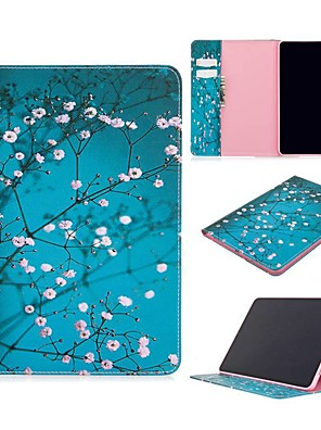 cheap iPad case-Case For Apple iPad Air / iPad 4/3/2 / iPad Mini 3/2/1 Wallet / Card Holder / with Stand Full Body Cases Flower PU Leather