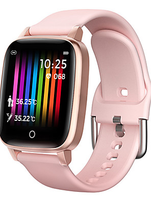 cheap Smart Watches-T1S Unisex Smartwatch Android iOS Bluetooth Waterproof Touch Screen Blood Pressure Measurement Sports Health Care Pedometer Activity Tracker Sleep Tracker Sedentary Reminder Community Share