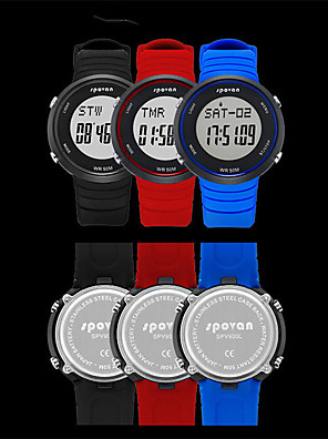 cheap Smart Watches-Spovan SPV900 Unisex Smartwatch Android iOS Bluetooth Waterproof Heart Rate Monitor Blood Pressure Measurement Calories Burned Health Care ECG+PPG Timer Pedometer Activity Tracker Sedentary Reminder