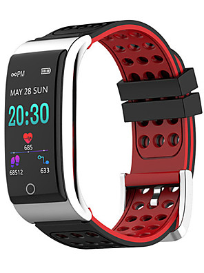 cheap Smart Watches-E08 Unisex Smart Wristbands Android iOS Bluetooth Heart Rate Monitor Blood Pressure Measurement Sports Calories Burned Long Standby ECG+PPG Pedometer Call Reminder Sleep Tracker Sedentary Reminder