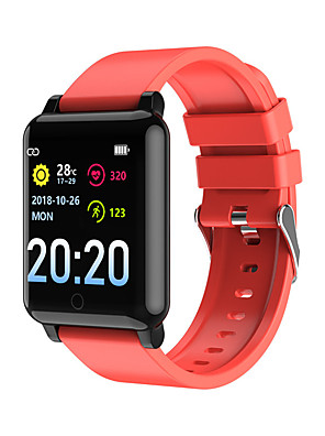 cheap Smart Watches-F54 Unisex Smart Wristbands Android iOS Bluetooth Heart Rate Monitor Blood Pressure Measurement Sports Calories Burned Thermometer Pedometer Call Reminder Sleep Tracker Sedentary Reminder Find My