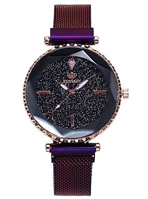 저렴한 쿼츠 시계-여성용 디지털 시계 패션 블랙 합금 중국어 디지털 로즈 골드 블랙 푸른 캐쥬얼 시계 1개 아날로그 1 년 배터리 수명