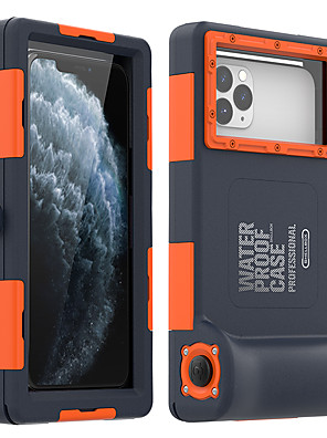 cheap iPhone Cases-iPhone11Pro Max Waterproof Diving Special Mobile Phone Case XS Max With Bluetooth Camera Function to Send Anti-lost Lanyard Suitable For 6 7 8Plus SE 2020 Protective Case