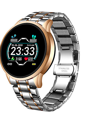 cheap Smart Watches-LIGE Men's Digital Watch Digital Modern Style Sporty Outdoor Water Resistant / Waterproof Stainless Steel Digital - Golden+Silver Black Silver