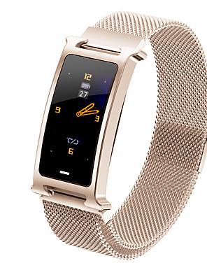 cheap Smart Watches-F8 Unisex Smart Wristbands Bluetooth Heart Rate Monitor Blood Pressure Measurement Calories Burned Long Standby Health Care Pedometer Call Reminder Sleep Tracker Sedentary Reminder Find My Device