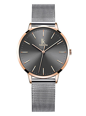 cheap Quartz Watches-Women's Quartz Watches Quartz Formal Style Vintage Style Casual Water Resistant / Waterproof Stainless Steel Analog - Rose Gold Silver+Gray Golden+Black