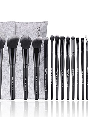 cheap Makeup Brush Sets-Professional Makeup Brushes 15pcs Soft Artificial Fibre Brush Wooden / Bamboo for Blush Brush Foundation Brush Eyeshadow Brush