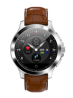 cheap Smart Watches-W8 Unisex Smart Wristbands Android iOS Bluetooth Heart Rate Monitor Blood Pressure Measurement Calories Burned Long Standby Health Care ECG+PPG Stopwatch Pedometer Call Reminder Sleep Tracker