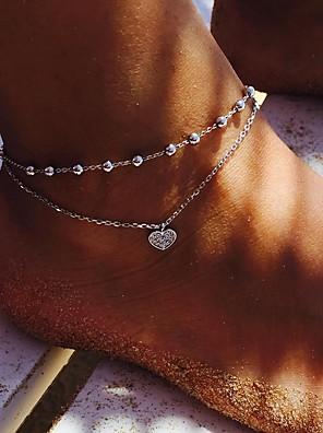 billiga Blus-Dam ankeln Armband Ankelkedja Smycken Silver Till Helgdag