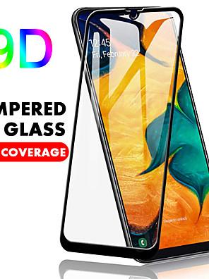 Black Mobile Screen Protective Film 25 PCS for Galaxy A80 Anti-Glare Full Screen Tempered Glass Film yf