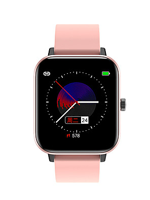 cheap Smart Watches-H8 Unisex Smart Wristbands Bluetooth Touch Screen Heart Rate Monitor Blood Pressure Measurement Calories Burned Long Standby Stopwatch Pedometer Call Reminder Sleep Tracker Sedentary Reminder
