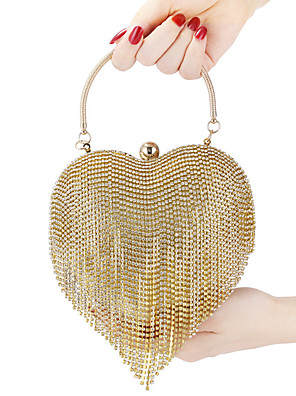 cheap Mini Dresses-Clutch Bag Retro Vintage 1920s Alloy For The Great Gatsby Cosplay Carnival Valentine's Day Women's Costume Jewelry Fashion Jewelry / Punching Bag