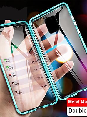 povoljno Maske/futrole za Xiaomi-magnetska metala dvostrano kaljeno staklo za kućište telefona za xiaomi mi 10 10 pro note 10 note 10 pro cc9 pro 9t 9t pro redmi note 9 note 9s note 9 pro note 9 pro max note 8 note 8 pro k20 k20 pro