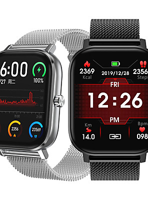 cheap Smart Watches-NO.1 Sports Tracker for Apple/ Samsng/ Android Phones, Multi-face Smartwatch Support Bluetooth Play Music/ Heart Rate/ Blood Pressure Measurement