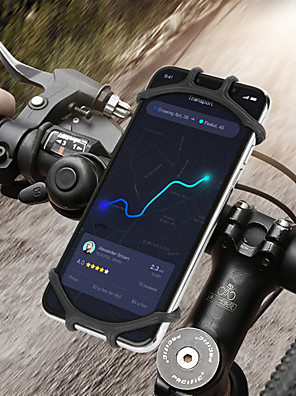 cheap Phone Mounts & Holders-Bicycle Phone Holder for IPhone 7 XS Max Samsung Xiaomi 9 Universal Motorcycle Mobile Phone Holder Bike Handlebar Stand Bracket