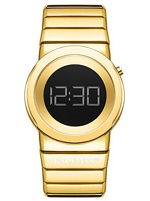 cheap Quartz Watches-Women's Digital Watch Digital Sporty Stylish Outdoor Water Resistant / Waterproof Stainless Steel Digital - Rose Gold Black Blue