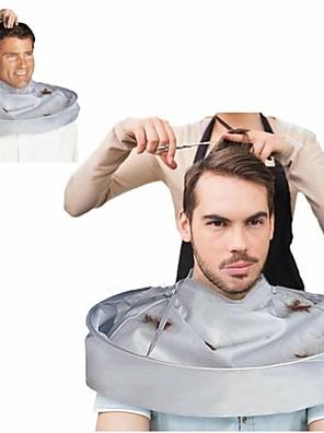 cheap Bathroom Gadgets-Family Barber Cape Cloak Salon Hair Cutting Trimming Cover Umbrella Haircut Tool Accessories Warp Cloak