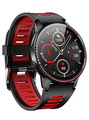 cheap Smart Watches-The new L6 full touch screen smart bracelet heart rate blood pressure waterproof sports stepping smart watch factory