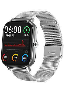 cheap Smart Watches-DT35 Unisex Smart Wristbands Android iOS Bluetooth Waterproof Heart Rate Monitor Blood Pressure Measurement Calories Burned Long Standby Stopwatch Pedometer Call Reminder Sleep Tracker Sedentary