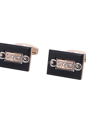 cheap Men's Accessories-Cufflinks Fashion Brooch Jewelry Rose Gold For Gift Daily