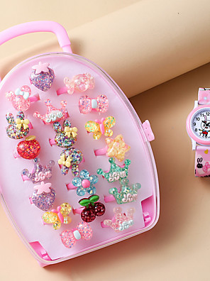 cheap Quartz Watches-Kids Quartz Watches Quartz Novelty Stylish Casual Chronograph Pink Analog - Blushing Pink