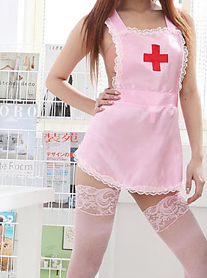 cheap Suits-Women's Lace Backless Cut Out Suits Nightwear Jacquard Solid Colored White / Blushing Pink One-Size