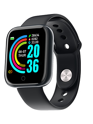 cheap Smart Watches-Y68 Unisex Smart Wristbands Android iOS Bluetooth Touch Screen Heart Rate Monitor Blood Pressure Measurement Sports Long Standby Pedometer Call Reminder Sleep Tracker Sedentary Reminder