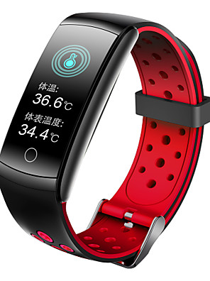 cheap Smart Watches-696 Q8T Unisex Smart Wristbands Android iOS Bluetooth Heart Rate Monitor Blood Pressure Measurement Sports Thermometer Health Care Pedometer Activity Tracker Sleep Tracker Sedentary Reminder Find My