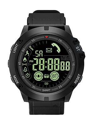 cheap Smart Watches-EX17S Unisex Smartwatch Android iOS Bluetooth Waterproof Heart Rate Monitor Sports Calories Burned Long Standby Stopwatch Pedometer Call Reminder Sleep Tracker Alarm Clock