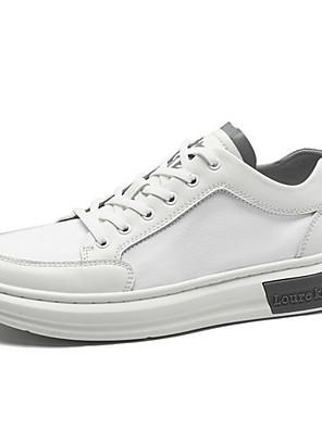 cheap Men's Pants & Shorts-Men's Summer Daily Sneakers PU White
