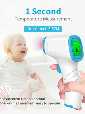cheap Boys' Tops-Non-Contact Infrared Thermometer Forehead Digital Thermometer Portable Handheld Thermometer Temperature Instruments with CE & FDA Approved for Adult / Baby