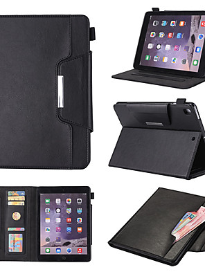 cheap iPad case-Case For Apple iPad Pro 11'' / Ipad Pro 11''2020 360° Rotation / Shockproof / Magnetic Full Body Cases Solid Colored PU Leather / TPU