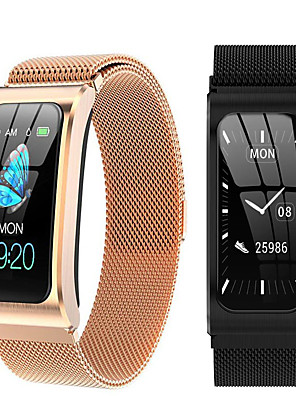 cheap Smart Watches-Women's Smartwatch Digital Modern Style Sporty Silicone 30 m Water Resistant / Waterproof Heart Rate Monitor Bluetooth Digital Casual Outdoor - Black Gold Silver