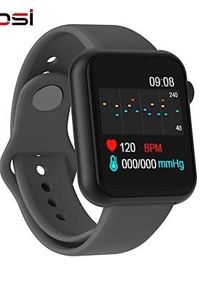 tanie Inteligentne zegarki-inteligentny zegarek kobiety mężczyźni smartwatch dla Androida iOS elektronika inteligentny zegar fitness tracker silikonowy pasek smart-watch
