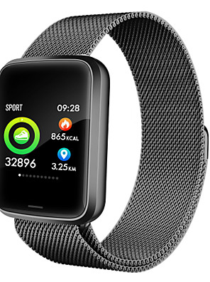 cheap Smart Watches-NFC function Fitness Tracker with metal band high hd colour screen  and medical grade smart watch  blood pressure monitoringStep  Sleep Monitor IP68 Waterproof Activity Tracker (multi Modes) Pedome