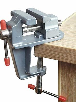 cheap Hand Tools-Aluminum Miniature Small Jewelers Hobby Clamp On Table Bench Vise Mini Tool Vice Muliti-Funcational