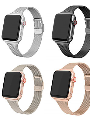 cheap Smart Watches-Stainless Steel Watch Band Strap for Apple Watch Series 5/4/3/2/1 21cm / 8.27 Inches 1.5cm / 0.6 Inches
