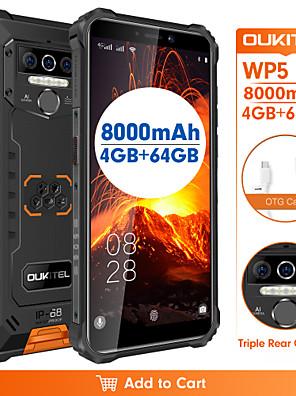 "cheap Smart Watches-OUKITEL OUKITEL  wp5 pro 5.5 inch "" 4G Smartphone ( 4GB + 64GB 13 mp MediaTek MT6761 8000 mAh mAh )"