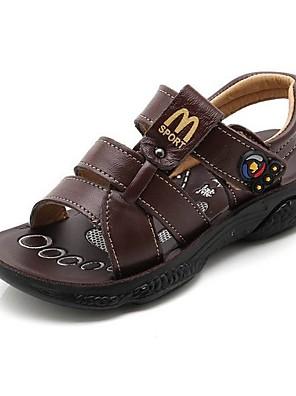 cheap Women's Pants-Boys' Sandals Comfort PU Little Kids(4-7ys) Yellow / Brown / Coffee Summer