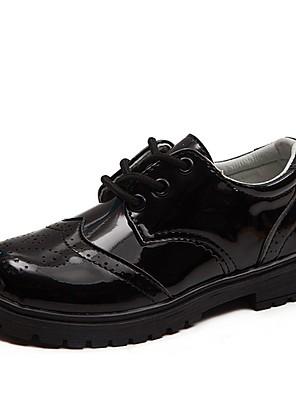 cheap Women's Pants-Boys' Flats Comfort PU Little Kids(4-7ys) Black Summer