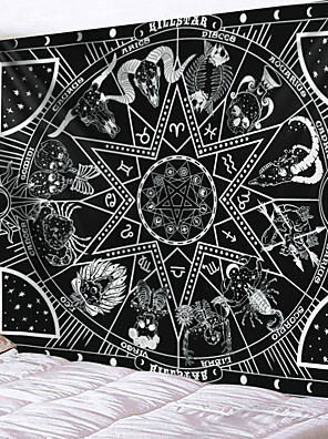 cheap Landscape Tapestries-Home Living Tapestry Wall Hanging Tapestries Wall Blanket Wall Art Wall Decor Skull Tapestry Wall Decor