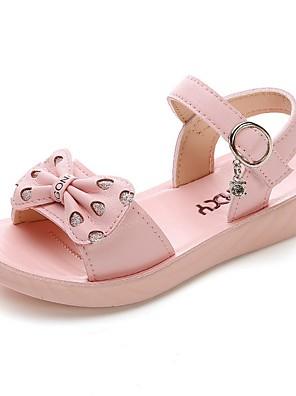 preiswerte Für Junge Frauen-Mädchen Sandalen Komfort PU Kleine Kinder (4-7 Jahre) Weiß / Purpur / Rosa Sommer