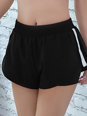 cheap Gymnastics-Women's Running Shorts Shorts Breathable Moisture Wicking Black Spandex Sports Activewear