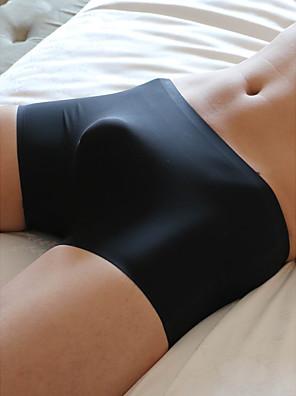 cheap Men's Exotic Underwear-Men's Basic Boxers Underwear - Normal Low Waist White Black M L XL