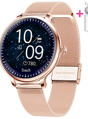 cheap Smart Watches-JSBP PNY12 Smart Watch BT Fitness Tracker Support Notify Full Touch Screen/Heart Rate Monitor Sport Stainless Steel Bluetooth Smartwatch Compatible IOS/Android Phones
