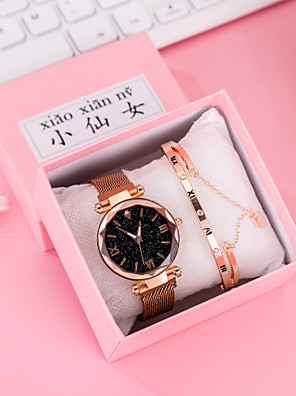 cheap Quartz Watches-Women's Quartz Watches Quartz Modern Style Stylish Classic Chronograph Rose Gold Analog - Rose Gold