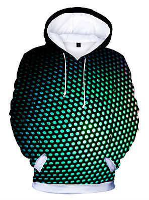 cheap Boys' Tops-Kids Boys' Active Basic Black & White Polka Dot Print Long Sleeve Hoodie & Sweatshirt Silver